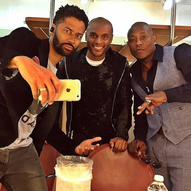 Eric Benet, Kenny Lattmore and Calvin Richardson do it for the Gram.