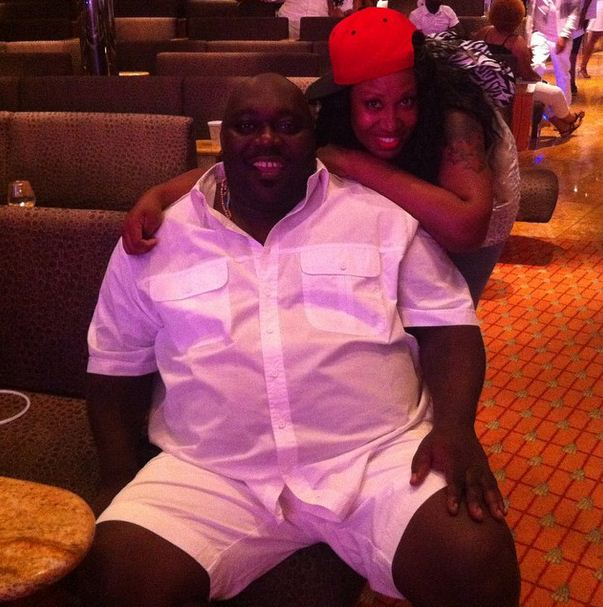 Faizon Love and a fan