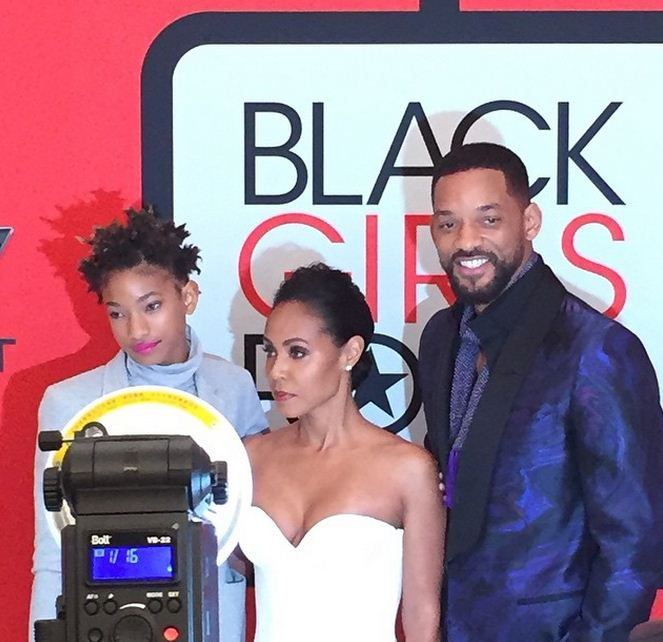 The Family Smith at Black Girls Rock!