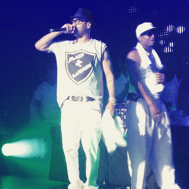 Juvenile and Manny Fresh put on a throwback show.