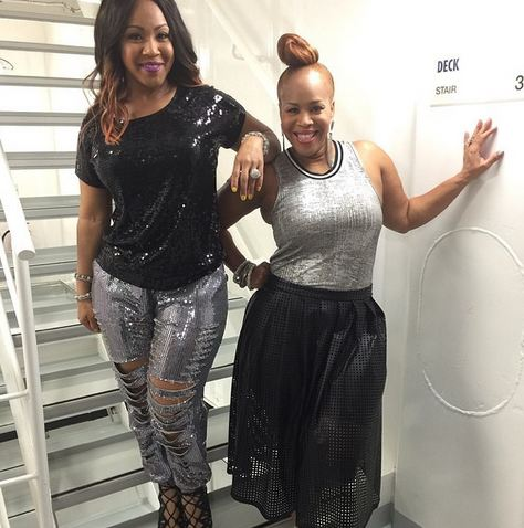 Tina and Erica Campbell