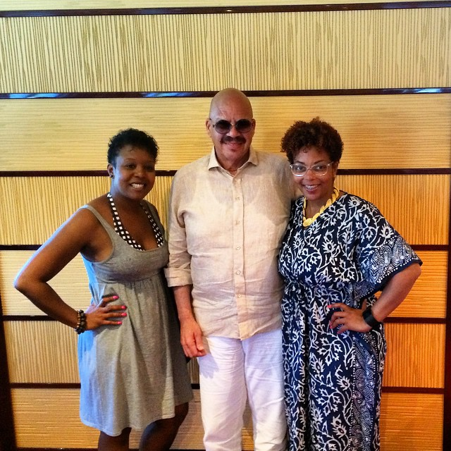 These Tom Joyner fans said meeting him was inspirational.
