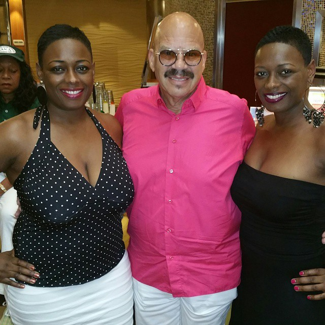Tom Joyner meets the most fabulous ladies on board!
