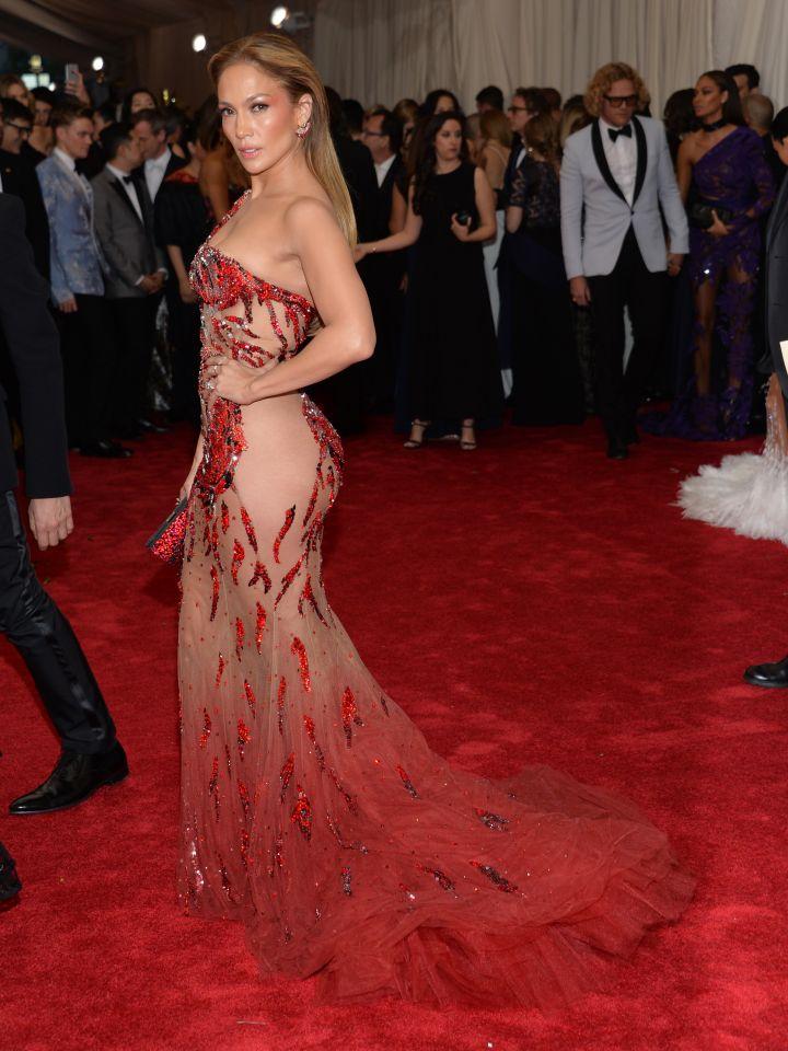 Jennifer Lopez does Versace well.