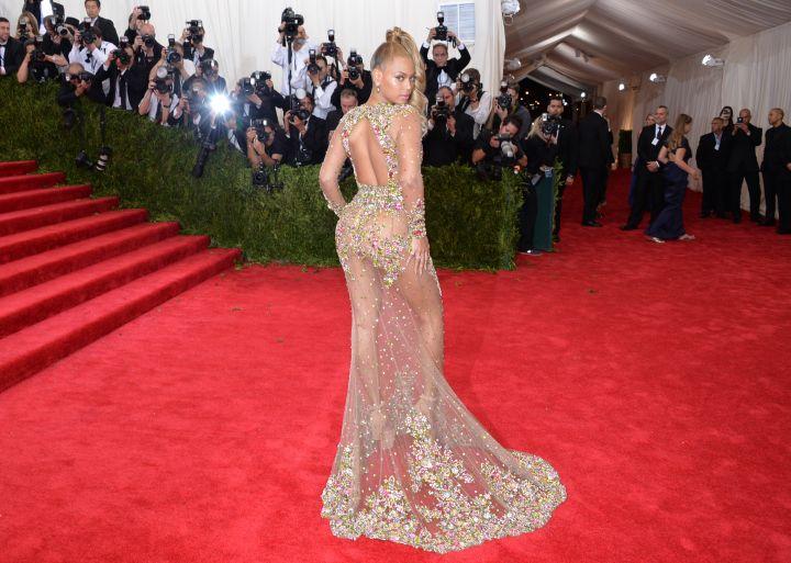 Beyonce's got back.