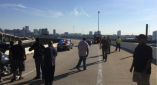 Protests Against $30 Million Juvenile Center Shut Down Highway In Baltimore