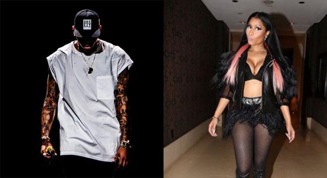 Nicki Minaj, Chris Brown, French Montana, Meek Mill
