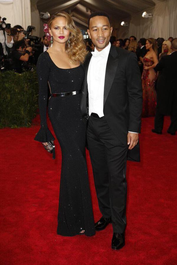 Chrissy Tiegen and John Legend