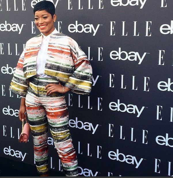 Keke Palmer shed her signature long locks to a cute pixie cut…