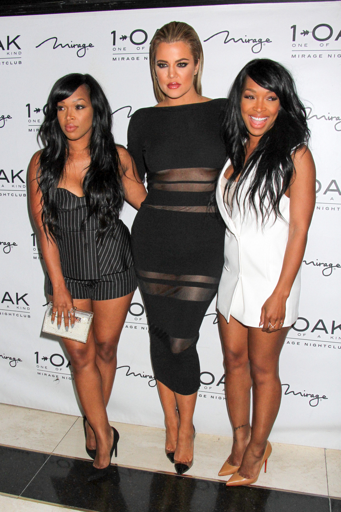 "05/22/2015 - Khadijah Haqq, Khloe Kardashian, Malika Haqq - Khloe Kardashian Hosts 1Oak Nightclub for Memorial Day Weekend in Las Vegas on May 22, 2015 - 1Oak Nightclu at the Mirage Hotel & Casino - Las Vegas, NV, USA - Keywords: ""Keeping Up with the Kardashians"", Reality Television Star, Vertical, Nevada, Arrival, Portrait, Arts Culture and Entertainment, Celebrities, Celebrity Orientation: Portrait Face Count: 1 - False - Photo Credit: PRN / PRPhotos.com - Contact (1-866-551-7827) - Portrait Face Count: 1"