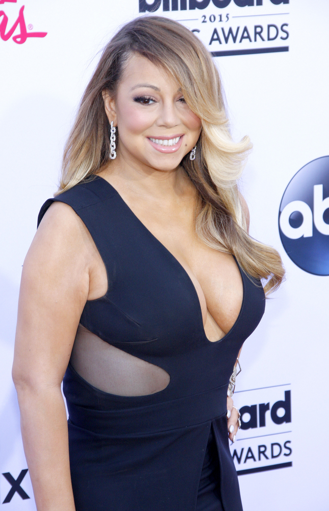 Born Mariah Angela Carey on March 27, 1970