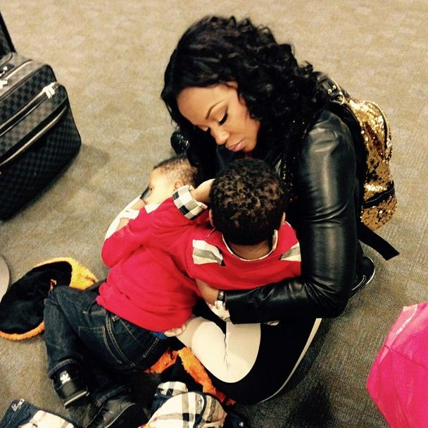 Phaedra Parks has two sons.