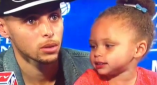 Riley Curry Is The Real MVP Of The NBA Finals, Steals Show Yet Again [VIDEO]
