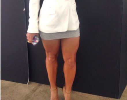 Can you guess which singer these legs belong to?