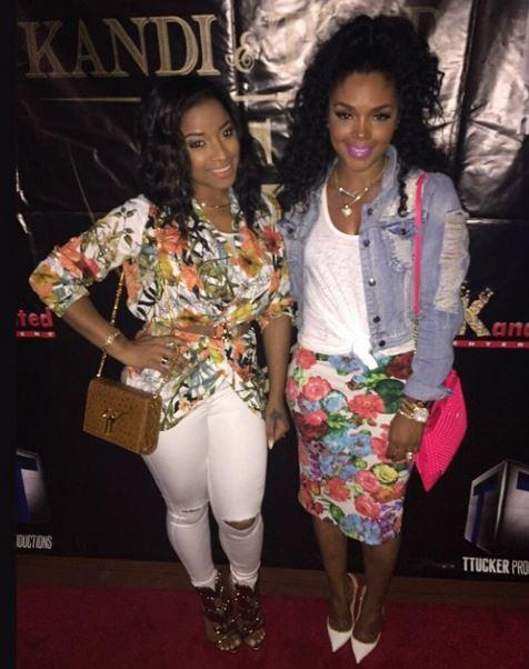 Toya Wright and Rasheeda