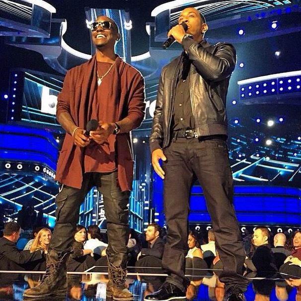 Tyrese and Ludacris