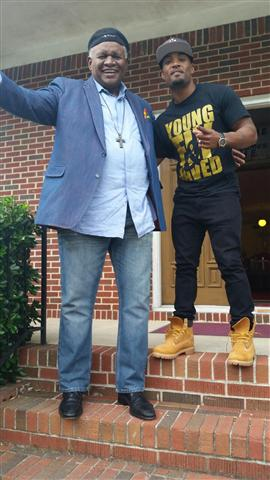 George Wallace and Willie Moore Jr.