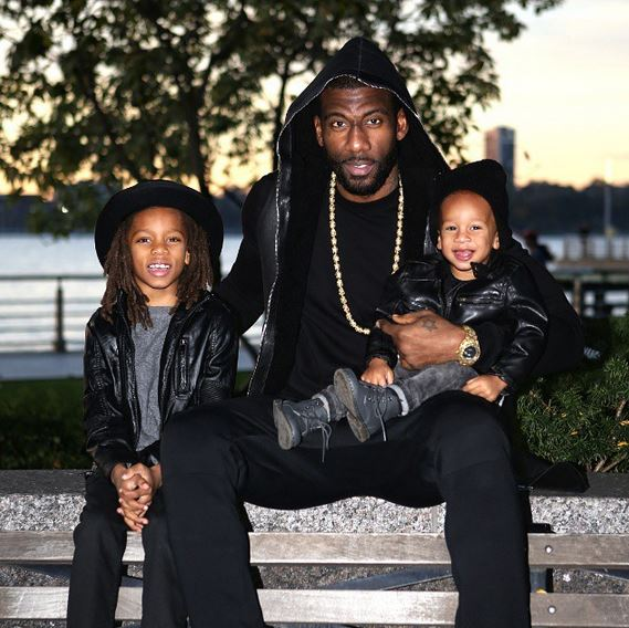A'mare Stoudemire has three kids – A'mare Jr., Assata and Are.