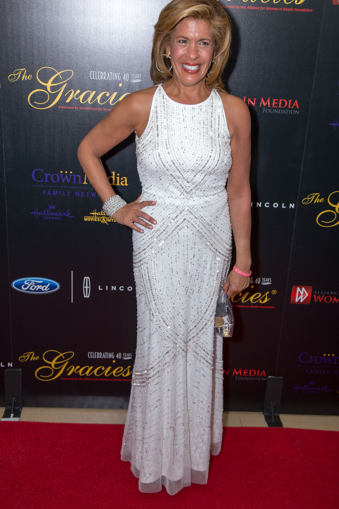 Hoda Kotb was diagnosed in 2006 and underwent a mastectomy & reconstructive surgery. She is now cancer-free. (AP)