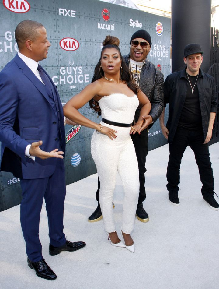 Terrence Howard, Taraji P. Henson and LL Cool J have some fun