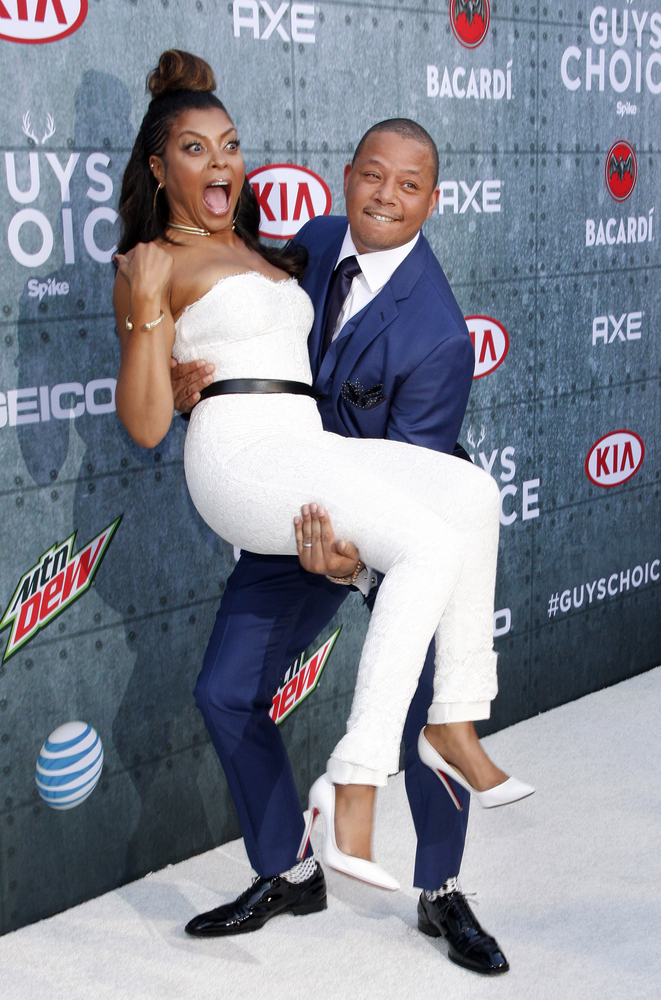 06/06/2015 - Terrence Howard and Taraji P. Henson - Spike TV's Guys Choice 2015 - Arrivals - Sony Pictures Studios - Culver City, CA, USA - Keywords:  Orientation: Portrait Face Count: 1 - False - Photo Credit: David Gabber / PRPhotos.com - Contact (1-866-551-7827) - Portrait Face Count: 1