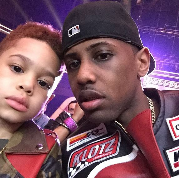 Johan and his dad Fabolous