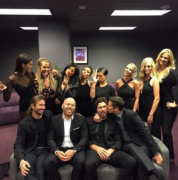 The Kardashian/Jenner Family