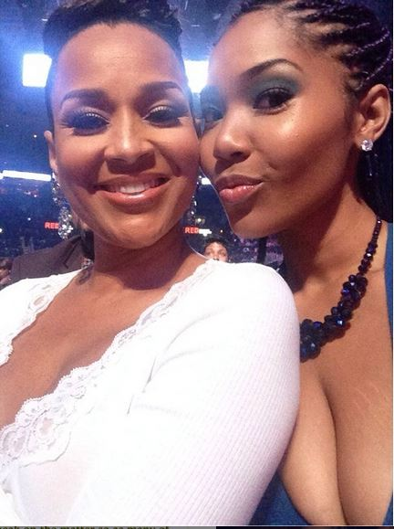 Kai and her mom Lisa Raye