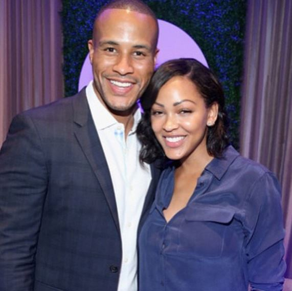 Meagan Good and Devon Franklin