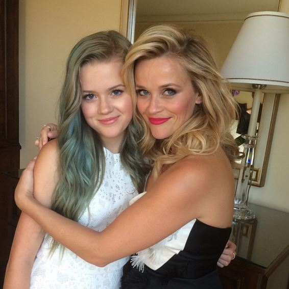 Ava and her mom Reese Witherspoon
