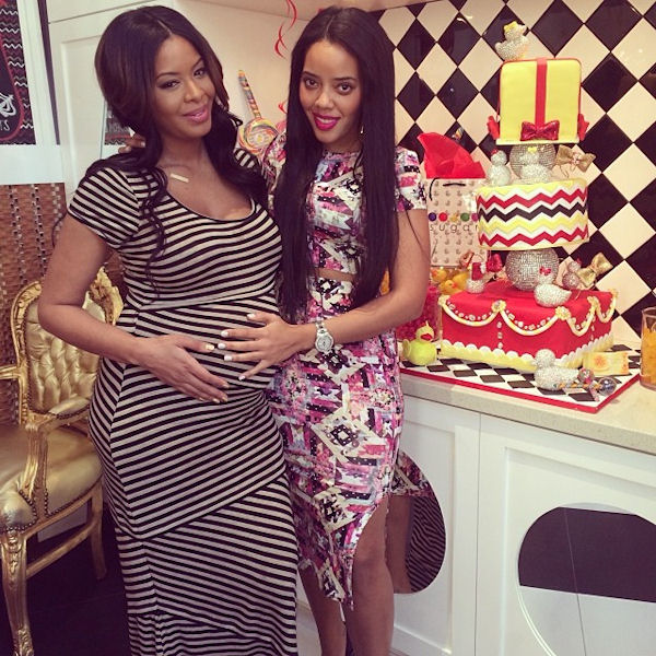 Angela Simmons is an auntie to Ava Marie Jean, sister Vanessa's daughter.