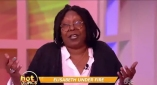 Whoopi Defends Elisabeth Hasselbeck Against Racism Claims: 'She Never Asked Me to Pick Cotton' (Watch)