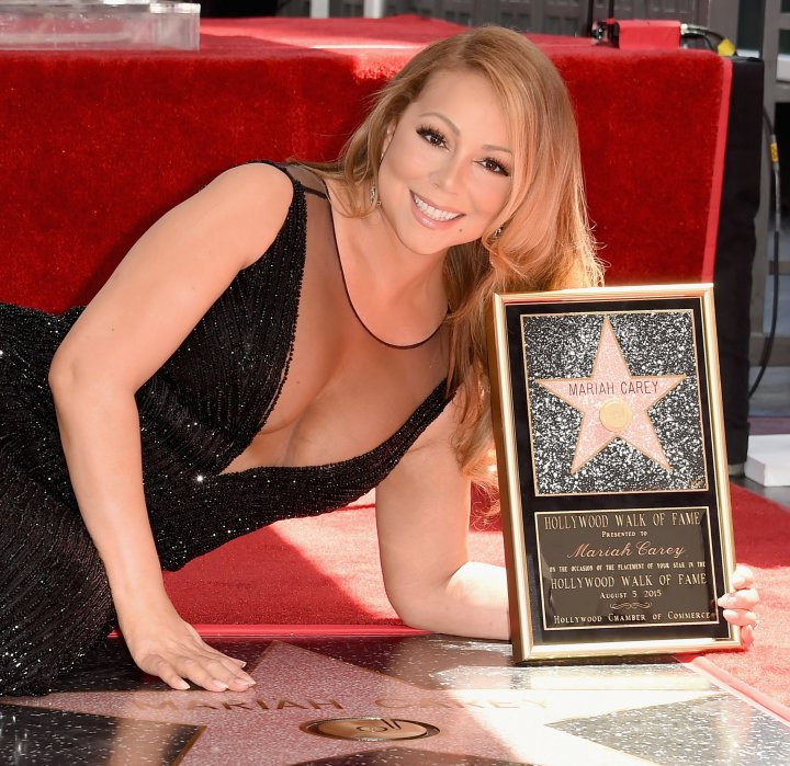 Mariah Carey recieved a star on the Hollywood Walk Of Fame on August 5, 2015
