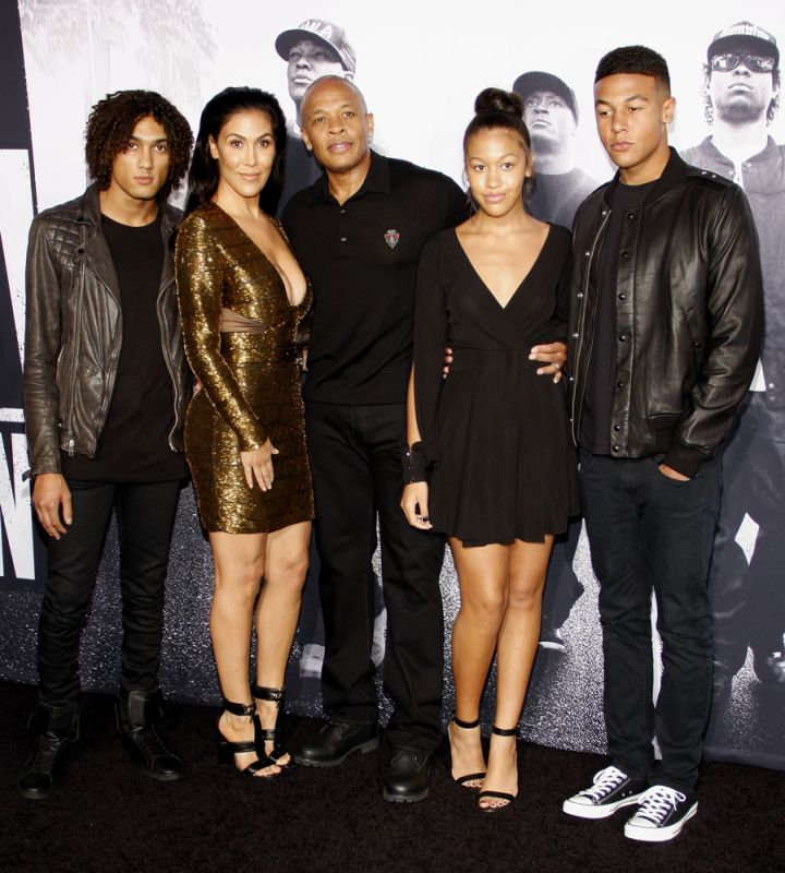 Dr. Dre and family