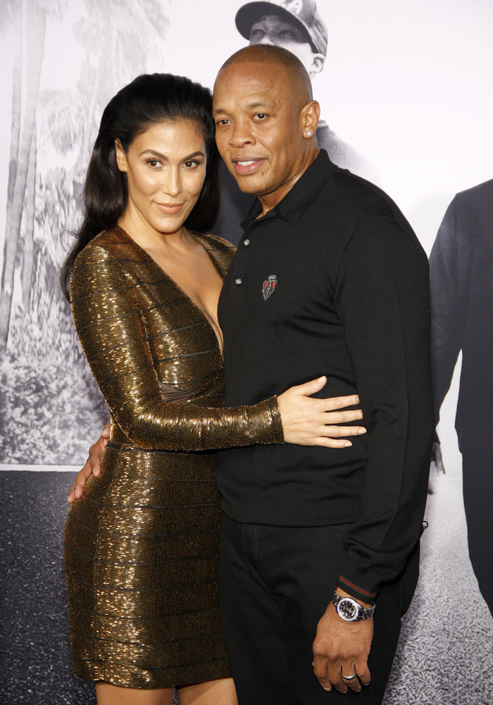 Dr. Dre and his wife Nicole