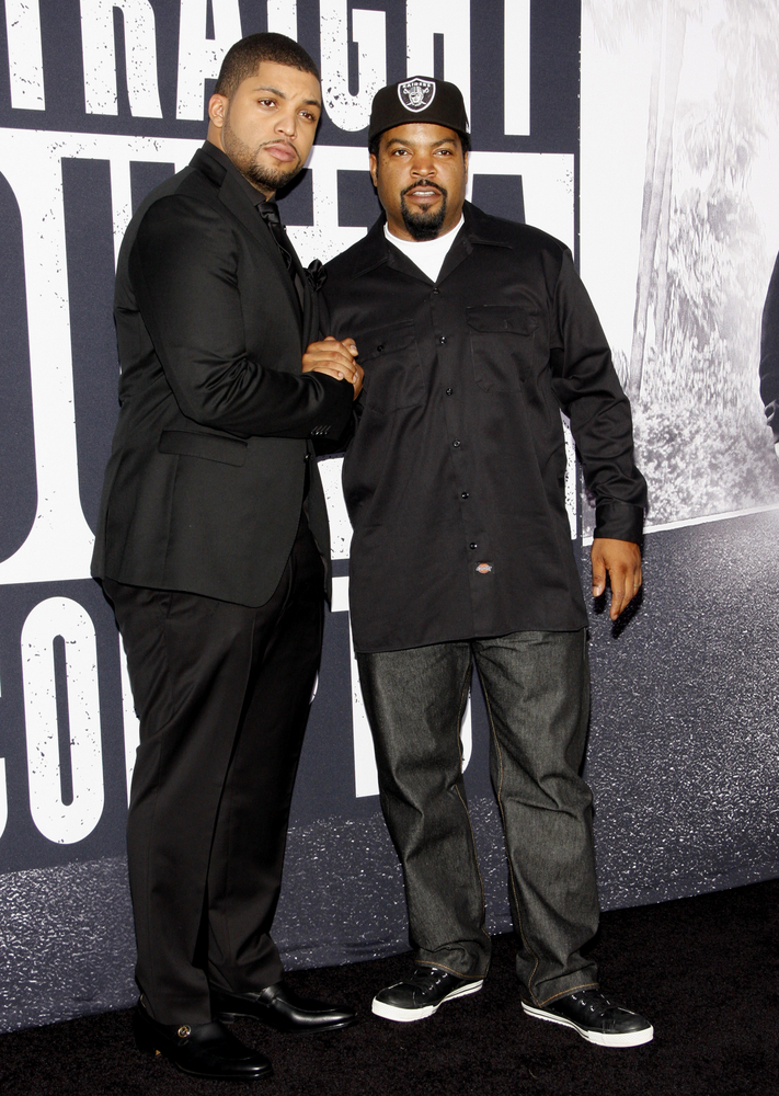 "08/10/2015 - Ice Cube and O'Shea Jackson Jr. - ""Straight Outta Compton"" Los Angeles Premiere - Arrivals - Microsoft Theater - Los Angeles, CA, USA - Keywords: Orientation: Portrait Face Count: 1 - False - Photo Credit: David Gabber / PRPhotos.com - Contact (1-866-551-7827) - Portrait Face Count: 1"