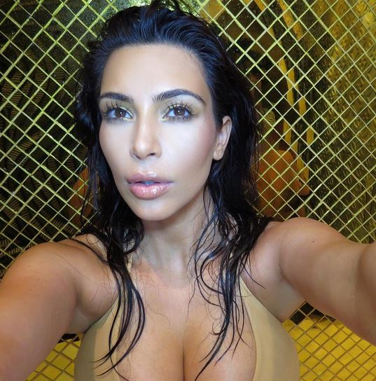 It's Kim Kardashian West