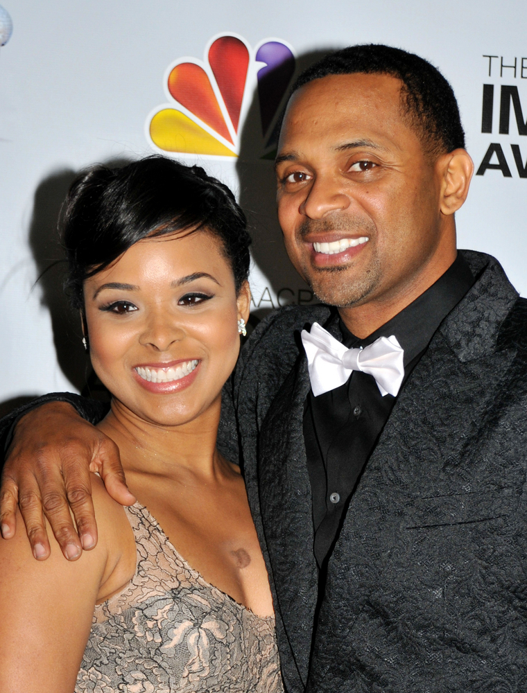 02/17/2012 - Mike Epps and Mechelle Epps - 43rd Annual NAACP Image Awards - Arrivals - Shrine Auditorium - Los Angeles, CA, USA - Keywords: Orientation: Portrait Face Count: 1 - False - Photo Credit: Koi Sojer / PR Photos - Contact (1-866-551-7827) - Portrait Face Count: 1