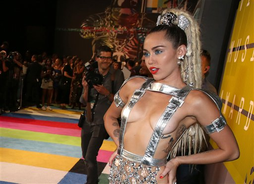 Miley Cyrus hosted the show this year.