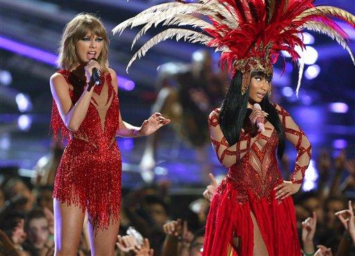 Nicki Minaj and Taylor Swift opened the show together.