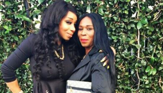 Photo of Tiffany Pollard & her Mother Michelle Rothschild-Patterson