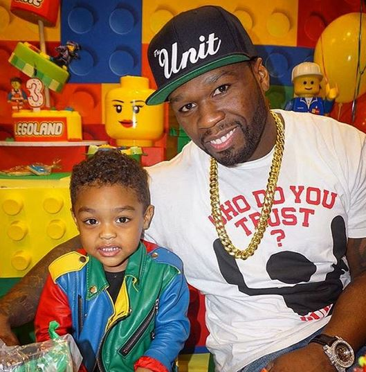 50 Cent has two sons, Marquise and Sire