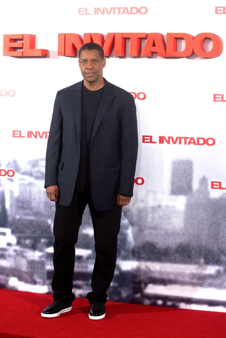 Denzel Washington, now