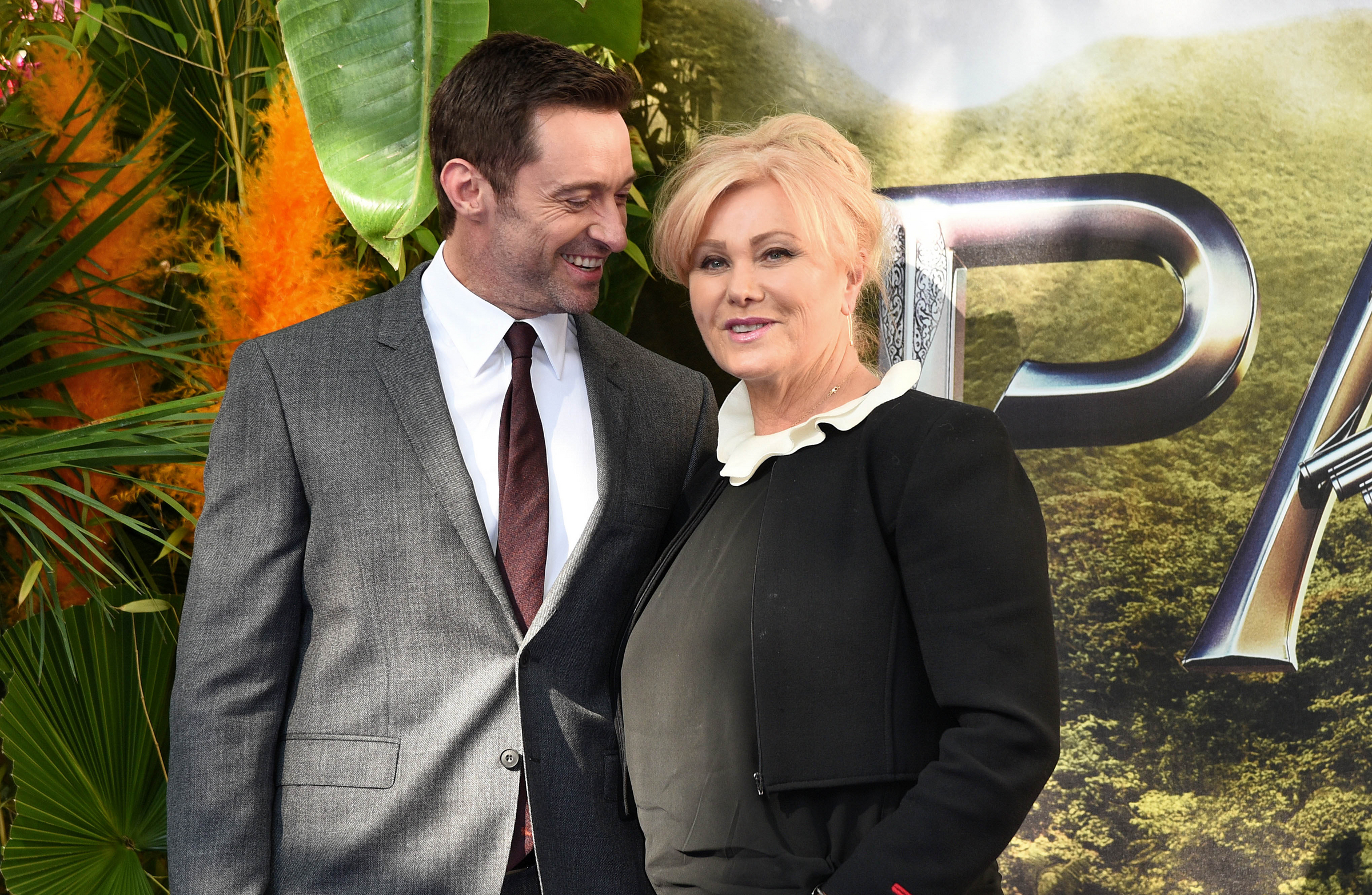 "09/20/2015 - Hugh Jackman and Deborra-Lee Furness - ""Pan"" World Premiere - Arrivals - Odeon Leicester Square - London, UK - Keywords: Horizontal, Portrait, Photography, ""Pan"" UK Premiere, Film Industry, Arts Culture and Entertainment, Attending, Celebrity, Celebrities, Topix, Bestof, Appearance, Ref: LMK392-58283-210915 Orientation: Portrait Face Count: 1 - False - Photo Credit: Landmark / PR Photos - Contact (1-866-551-7827) - Portrait Face Count: 1"