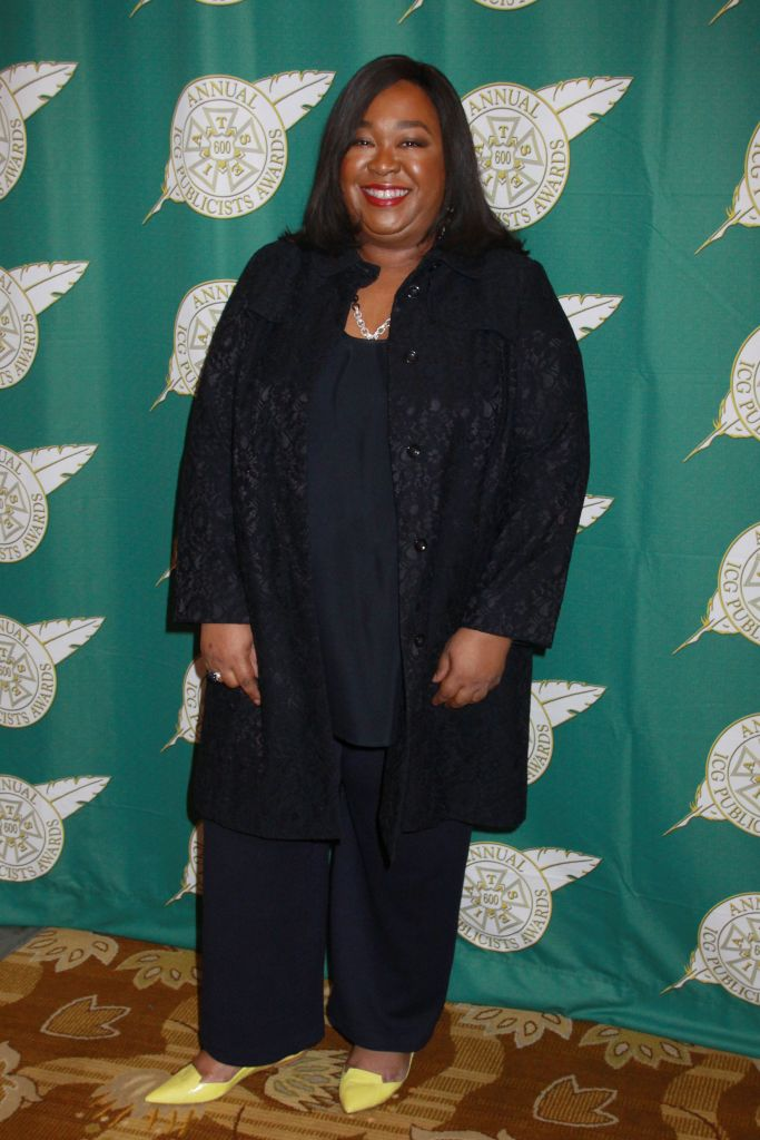 02/28/2014 - Shonda Rhimes - 51st Annual ICG Publicists Awards Luncheon - Beverly Wilshire Four Seasons Hotel - Beverly Hills, CA, USA - Keywords: Arts Culture and Entertainment, Regent Beverly Wilshire Hotel, Celebrity, Celebrities Orientation: Portrait Face Count: 1 - False - Photo Credit: Kazuki Hirata / HollywoodNewsWire.net / PRPhotos.com - Contact (1-866-551-7827) - Portrait Face Count: 1