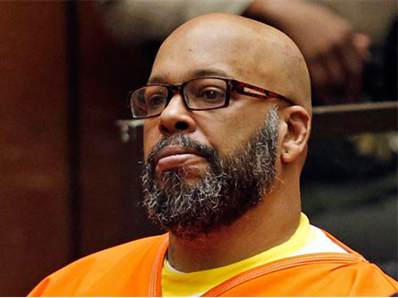 Suge Knight was indicted by a grand jury for threatening death to director F. Gary Gary in August of 2017.(AP)
