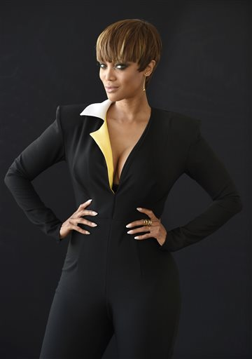 """FILE - In this Aug. 4, 2015 file photo, Tyra Banks, one of the hosts of the lifestyle talk show """"FABLife,"""" poses for a portrait during the 2015 Television Critics Association Summer Press Tour in Beverly Hills, Calif. The syndicated daily lifestyle talk show premieres in North America on Sept. 14. (Photo by Chris Pizzello/Invision/AP, File)"""