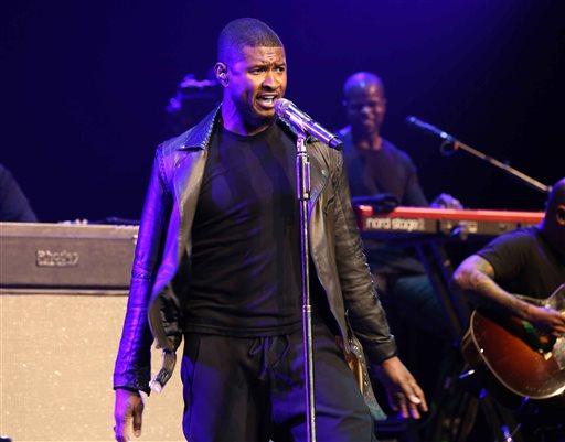 Usher was born in Dallas