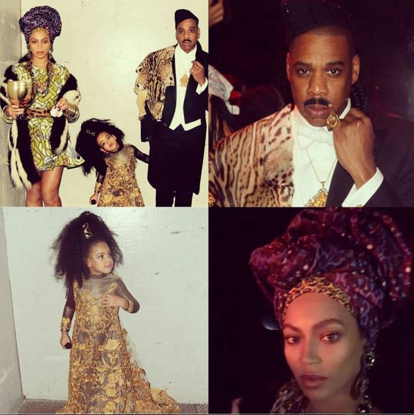 The Carters in Coming to America