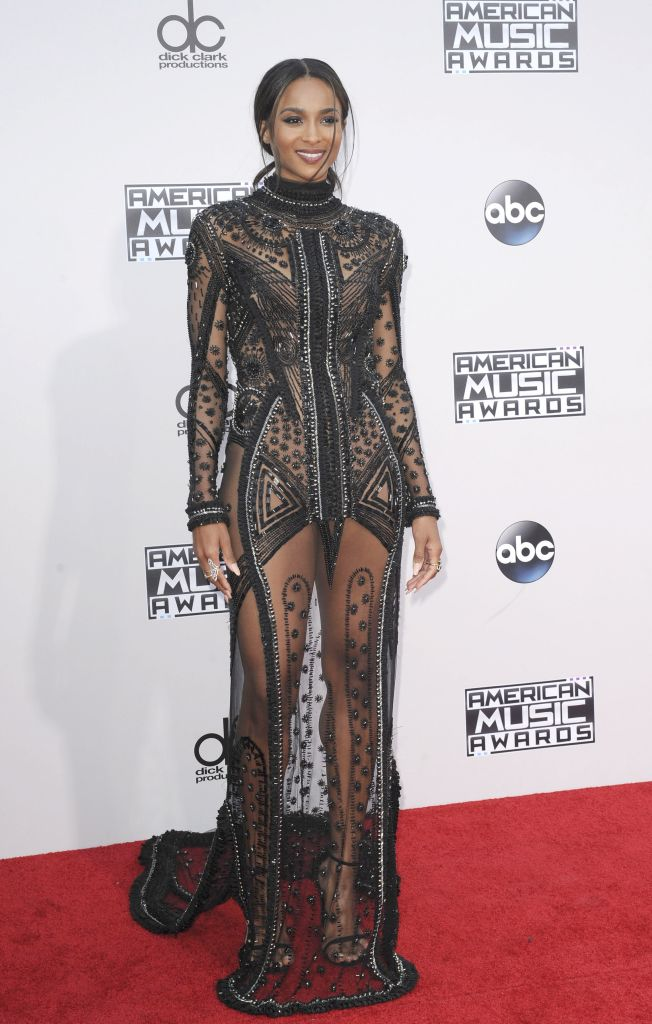 11/22/2015 - Ciara - 2015 American Music Awards - Arrivals - Microsoft Theater - Los Angeles, CA, USA - Keywords: Orientation: Portrait Face Count: 1 - False - Photo Credit: David Gabber / PRPhotos.com - Contact (1-866-551-7827) - Portrait Face Count: 1